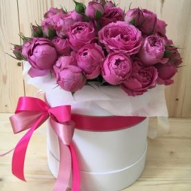 Коробочка роз Мисти Баблз
