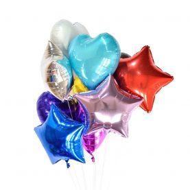 Фольгированные гелевые шары