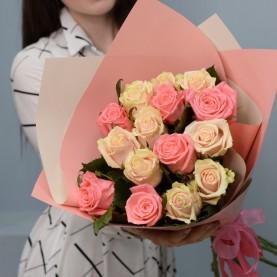 15 светлых сортовых роз