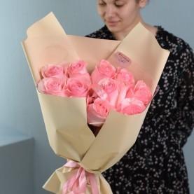 Букет роскошных крупных роз