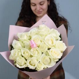 17 белых роз Акваланш