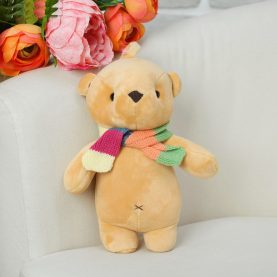 Медведь в шарфе, 25см
