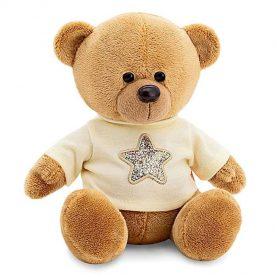 Медведь Топтыжкин звезда, 25 см