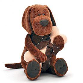 «Пёс Барбоська» с косточкой, 25 см
