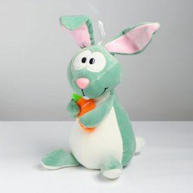 «Кролик с морковкой», 26см, цвета МИКС