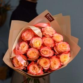 Букет роз сорта  Кабаре